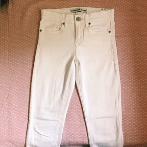 Express Jeans - Express Ankle Jeans in White